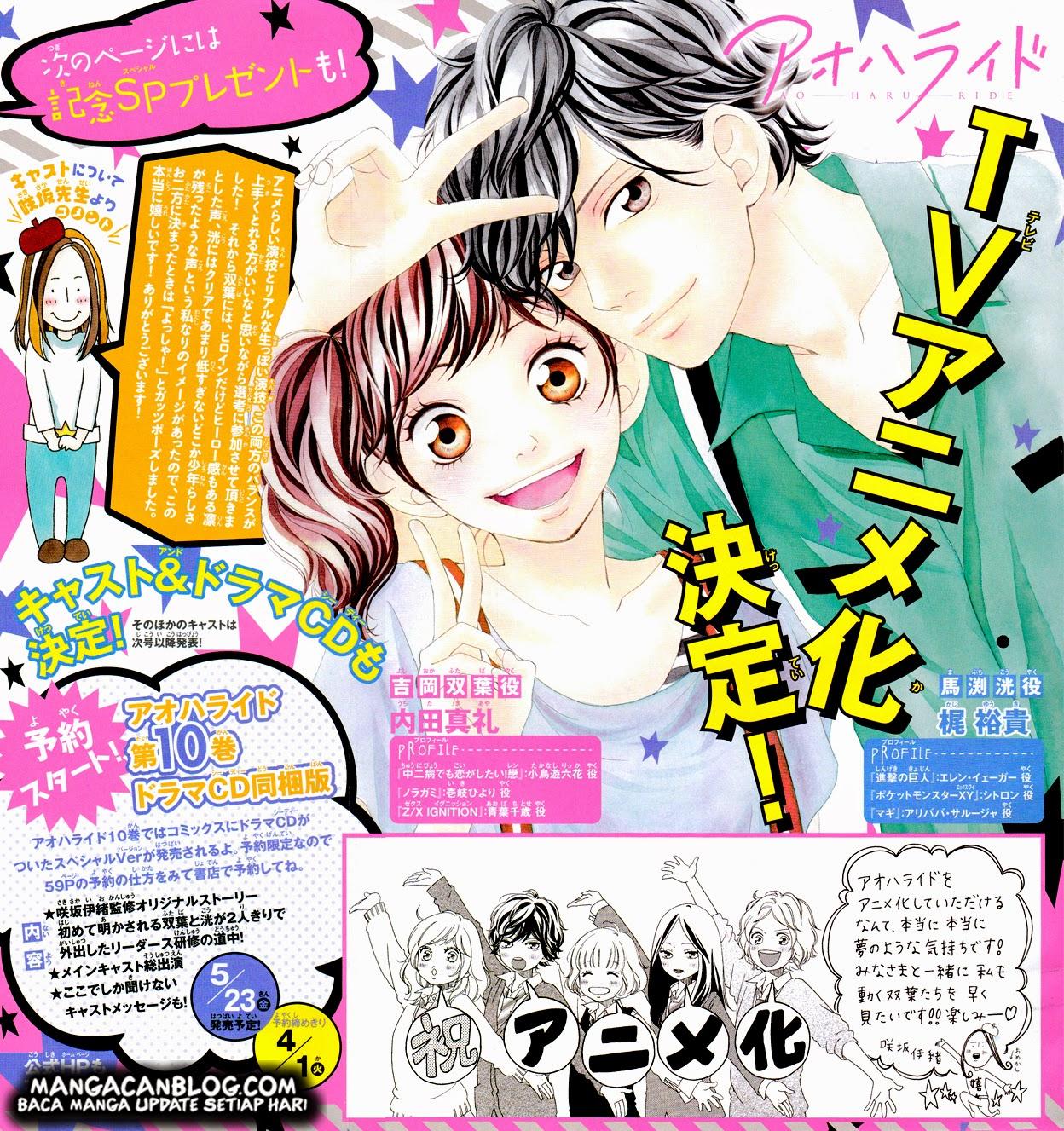 Ao Haru Ride Chapter 36-2