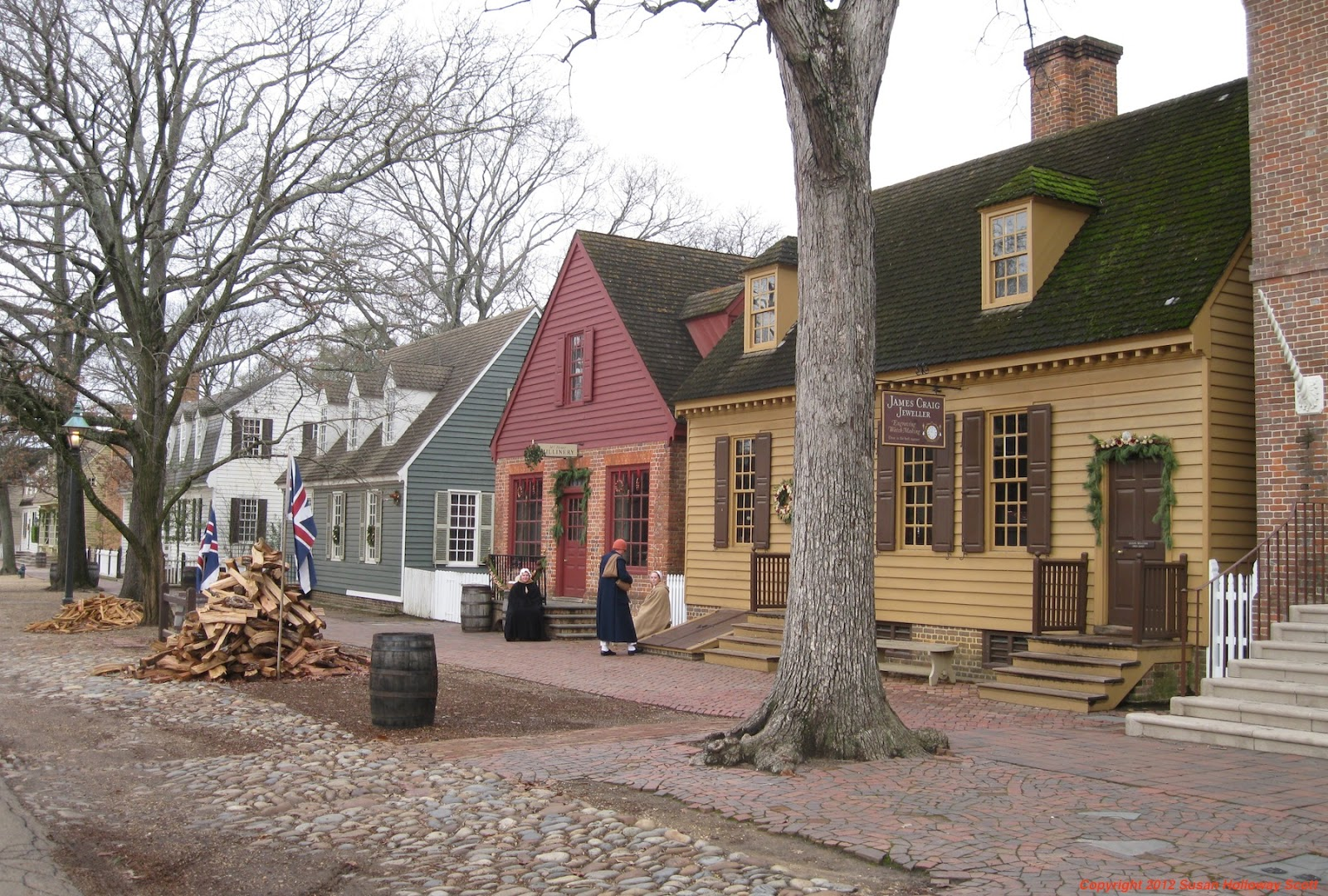 Colonial Williamsburg Christmas.Two Nerdy History Girls Day Iii Christmas In Colonial