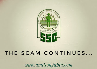 SSC scam 2018 paper leak