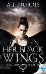 Her Black Wings by A.J Norris || Cover Love