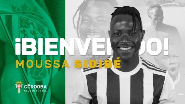 Oficial: Moussa Sidibé llega cedido al Córdoba
