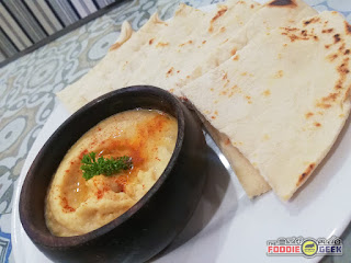 hummus with pita, Zaika House of Kebabs and Shawarma, Marikina