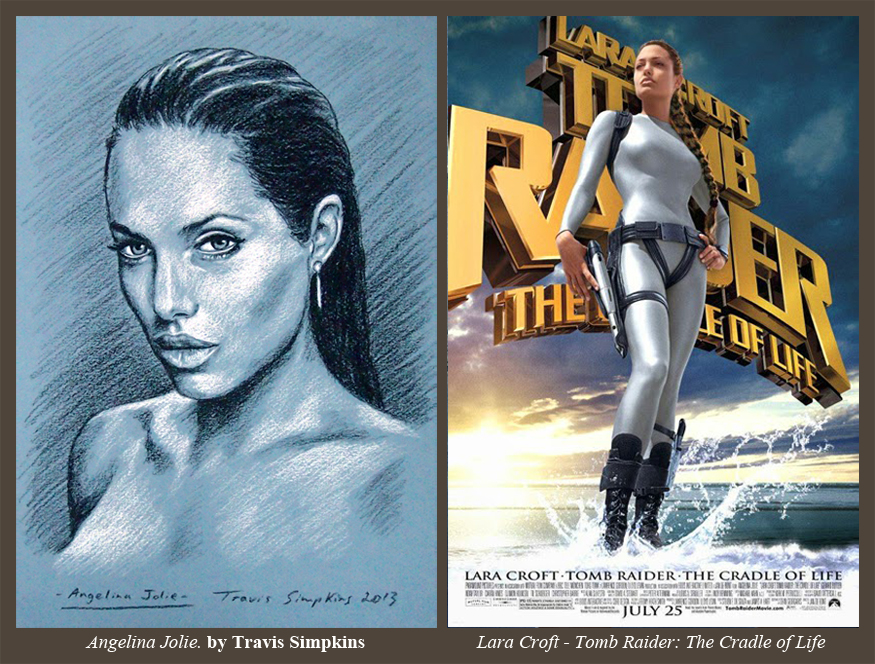 Travis Simpkins Angelina Jolie Lara Croft Tomb Raider The