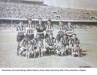 Botafogo FR Campeão do Torneio Pentagonal do México de 1962