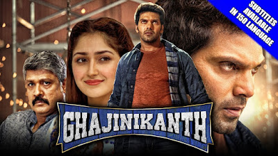 Ghajinikanth 2019 Hindi Dubbed WEBRip 480p 350Mb x264