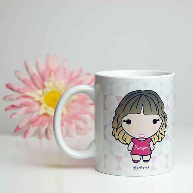 Rite rite regalo especial para una amiga taza for Regalos para amigas en boda