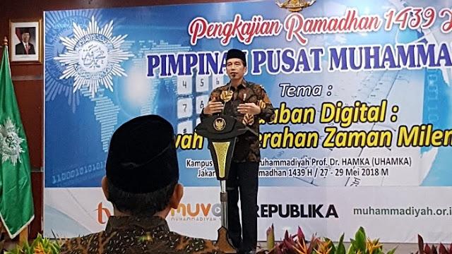 Kunjungan Presiden Jokowi ke UHAMKA