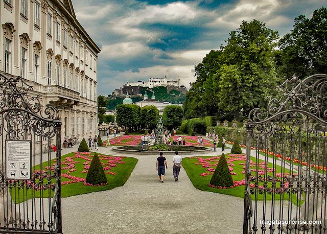 Jardins do Palácio Mirabell, Salzburgo