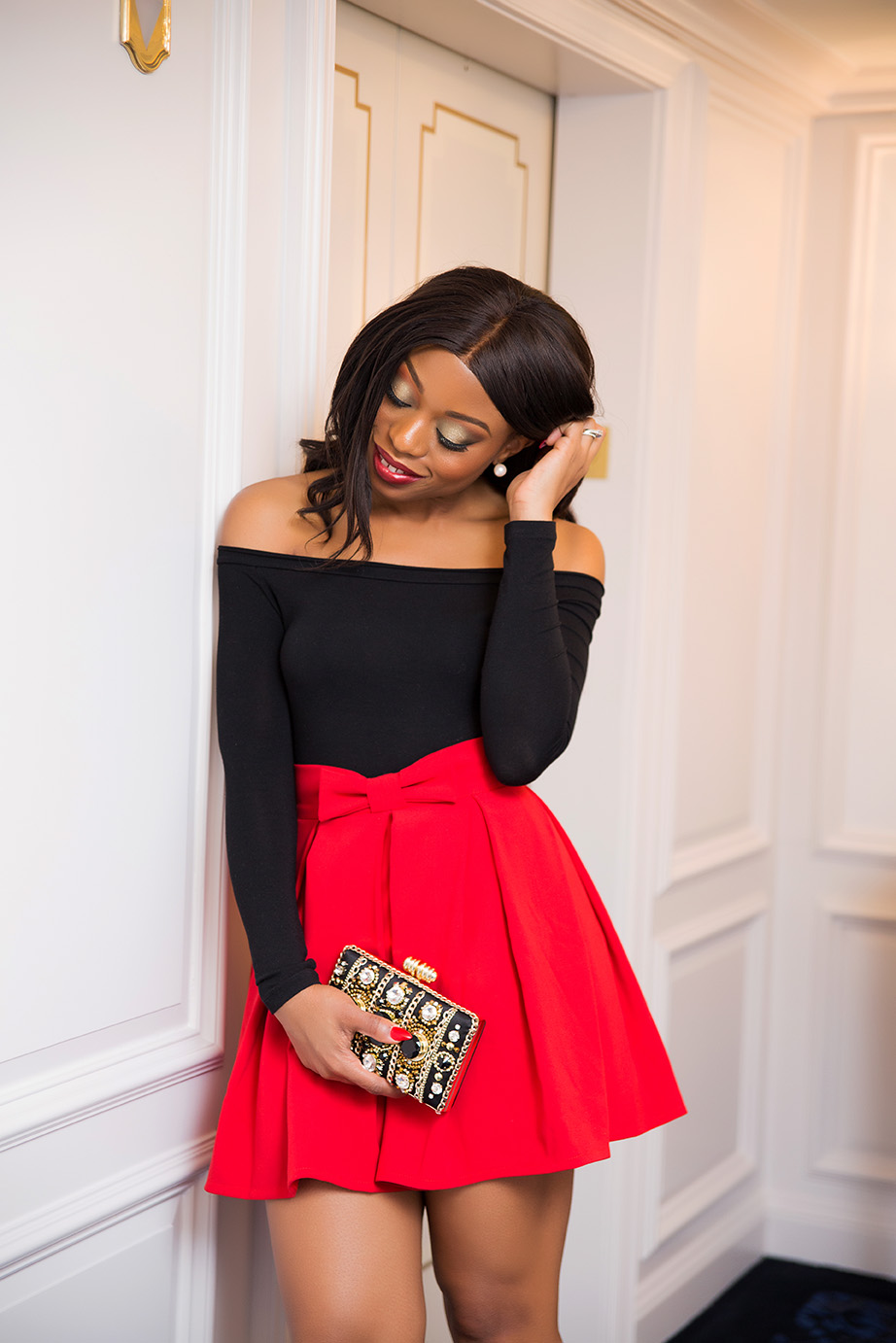 Holiday party skirt, www.jadore-fashion.com
