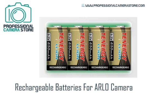 Rechargeable Batteries For ARLO Camera