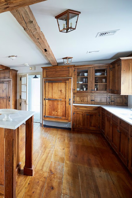 Before image of modern farmhouse kitchen renovation by One Kings Lane - found on Hello Lovely Studio