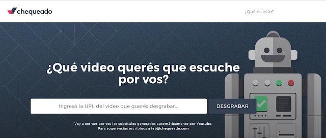 Como obtener el texto de un vídeo de YouTube