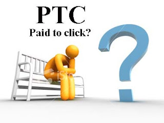 how to online work with PTC or paid to click in internet