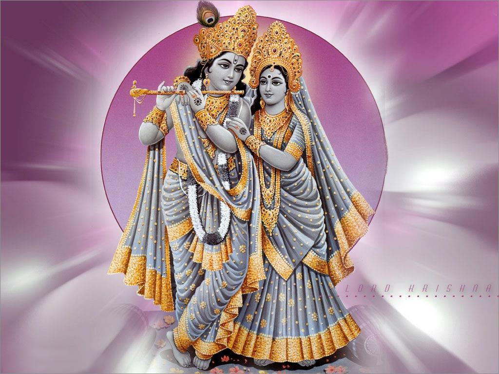Citizen Love For Radha Miss Wallpaper Download: Beautiful Lord Krishna HD Desktop Wallpaper, Pics