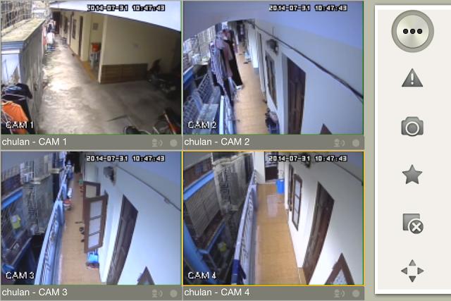 Lắp camera phòng trọ tại Hải Phòng
