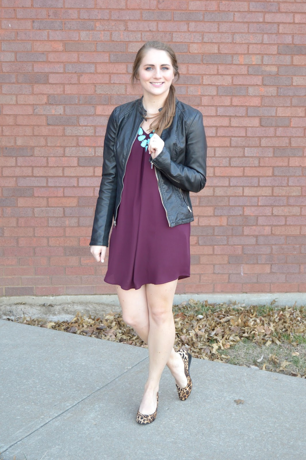 maroon shift dress outfit ideas