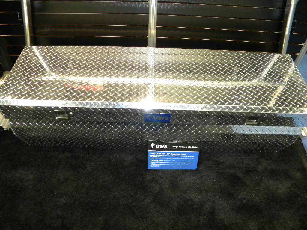 SIERRA TRUCK & VAN: UWS Tool Boxes At The NTEA Work Truck