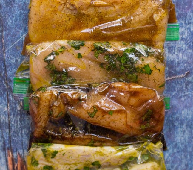 5 HEALTHY CHICKEN MARINADES #healthy #mealprep