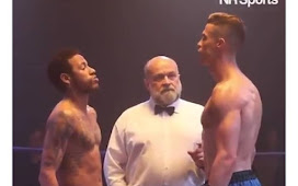 Breaking: Christiano Ronaldo and Neymar turn Boxers, face each other