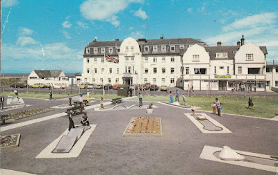 Pontin's Prestatyn Holiday Village. Photo Precision Limited R5605. Postally used 8 July 1977