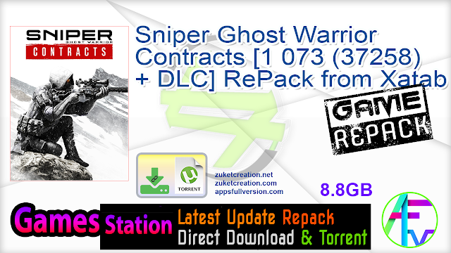 Sniper Ghost Warrior Contracts [1 073 (37258) + DLC] RePack from Xatab