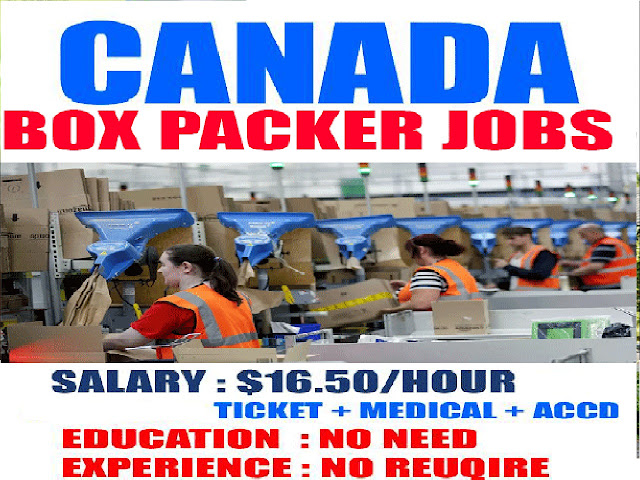 Packing worker wanted in Canada | Apply Now