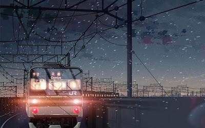La vida es como un viaje en tren Obra de Karina Iveth