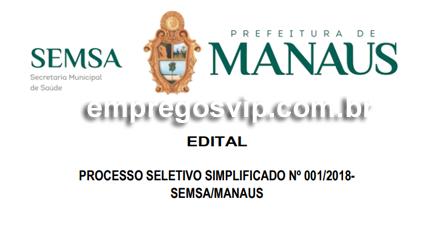 Secretaria Municipal de Saúde (SEMSA)