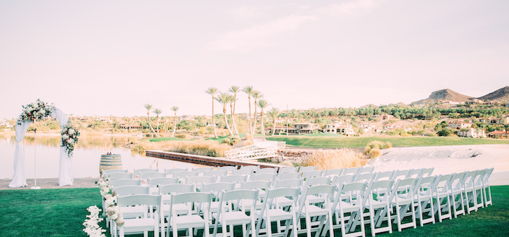 Las Vegas Wedding at Reflection Bay