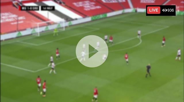 Manchester United vs Sheffield United live stream