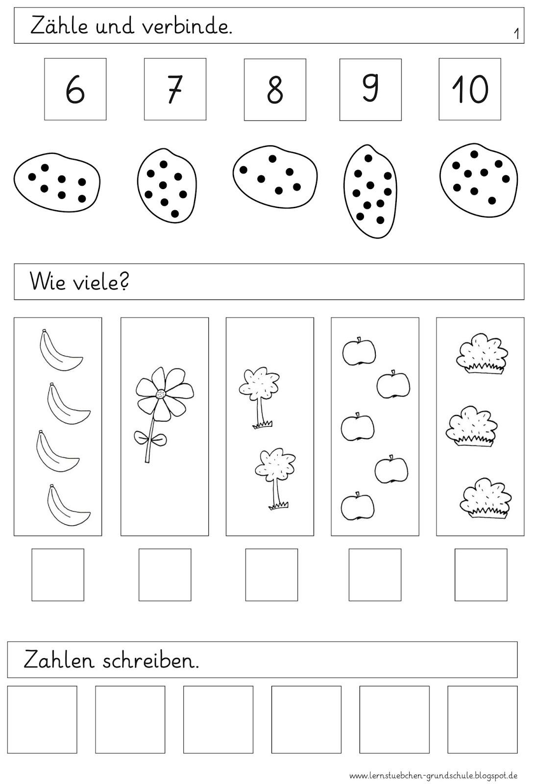 Lernstübchen: erste Diagnose in Mathe