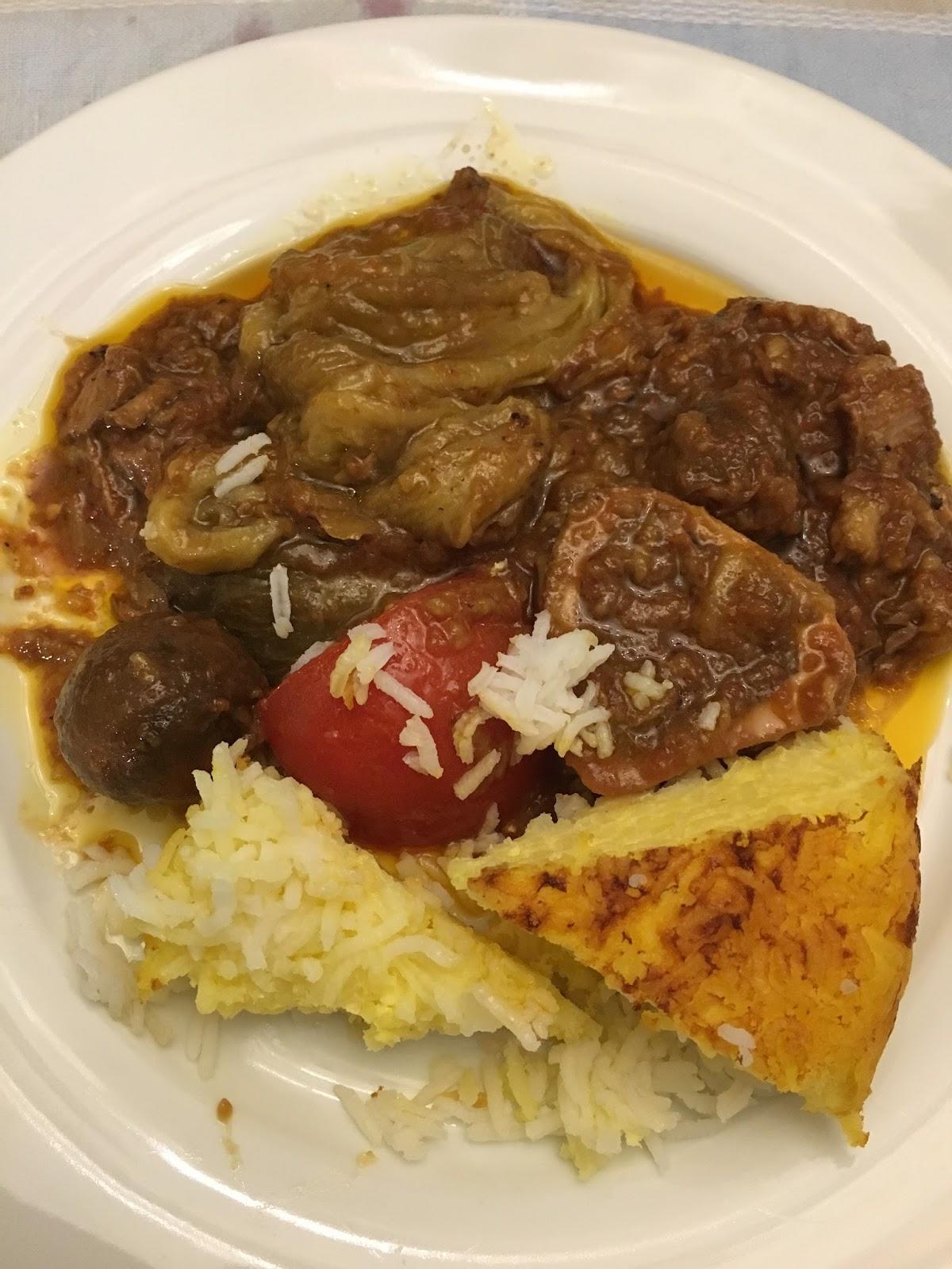 la mia cucina persiana: khoresh bademjan con ossibuchi di vitello ... - Come Cucinare Gli Ossibuchi Di Manzo