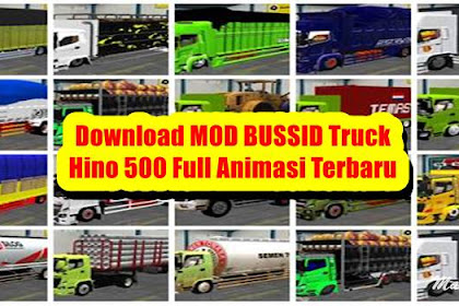 17+ Download MOD BUSSID Truck Hino 500 Full Animasi Terbaru