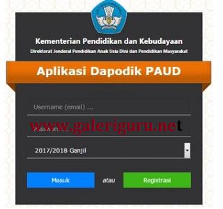 Cara Simpel Daftar Akun Operator TK Pada Situs SDM - PDSPK