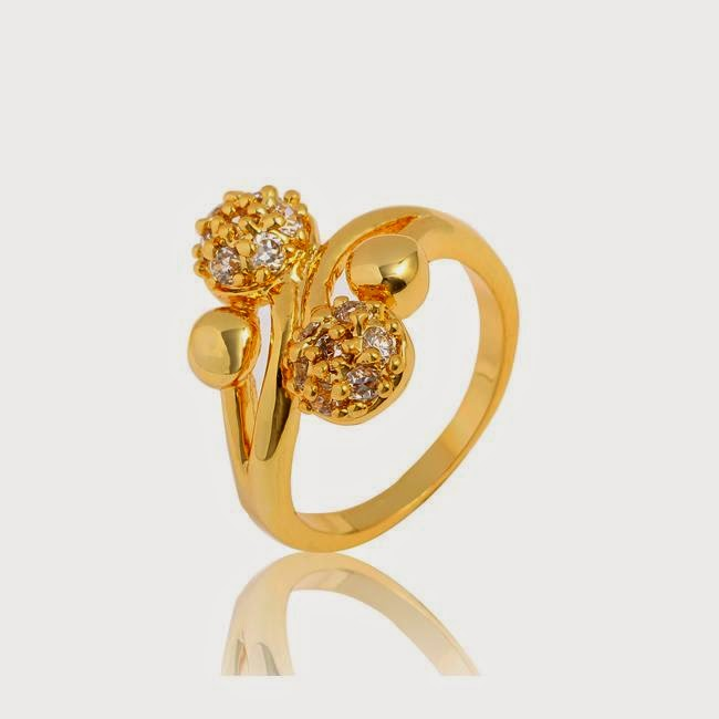 Latest 2014 Gold Rings Designs for Finger ~ Snipping World!