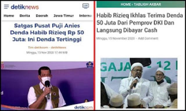Haters Makin Muriang, Satgas Pusat Puji Anies Denda HR5 Rp 50 Juta: Ini Denda Tertinggi
