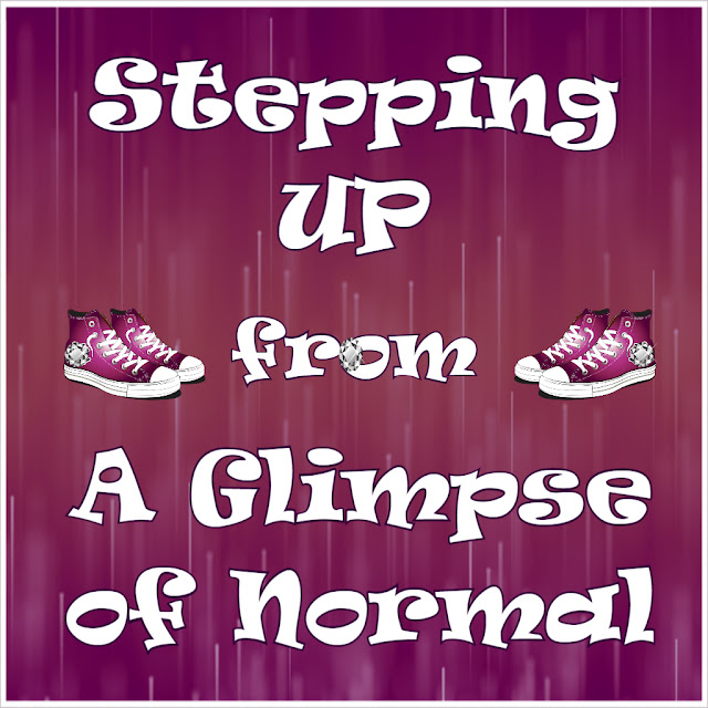 Every one wants to get healthier and I am no exception.  Check out my blog, A Glimpse of Normal, to learn about a few changes I am making.