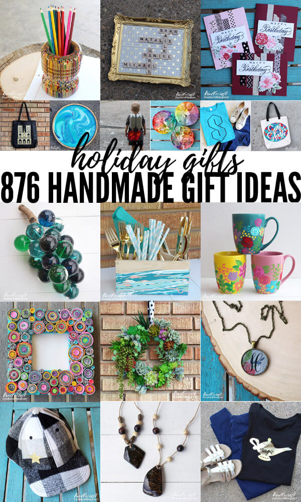 876 Handmade gift ideas for the Christmas holiday season
