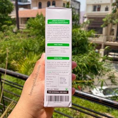 Urban-Botanics-Neem-and-Basil-Moisturizer-Review