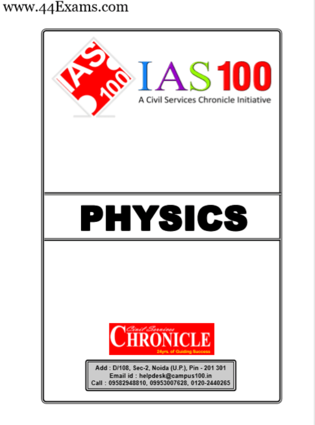 Physics-by-Chronicle-IAS-Academy-For-All-Competitive-Exam-PDF-Book
