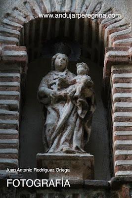 Detalle Virgen de la Cabeza ermita Ávila