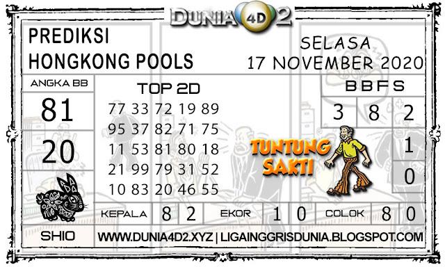 Prediksi Togel HONGKONG DUNIA4D2 17 NOVEMBER 2020