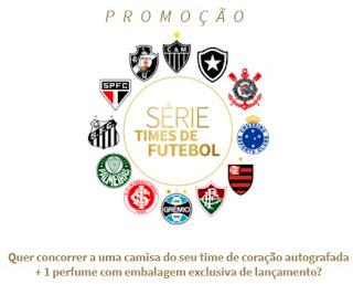 Cadastrar Promoção Jequiti Times de Futebol Kit Camisa