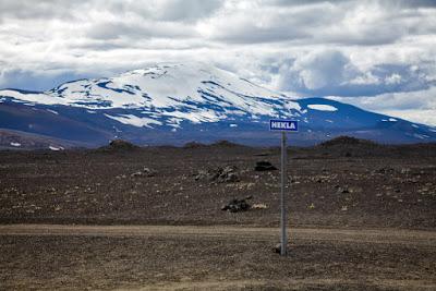 Les volcans actifs d'Islande