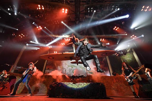 Iron Maiden volta ao Rock in Rio em 2021.