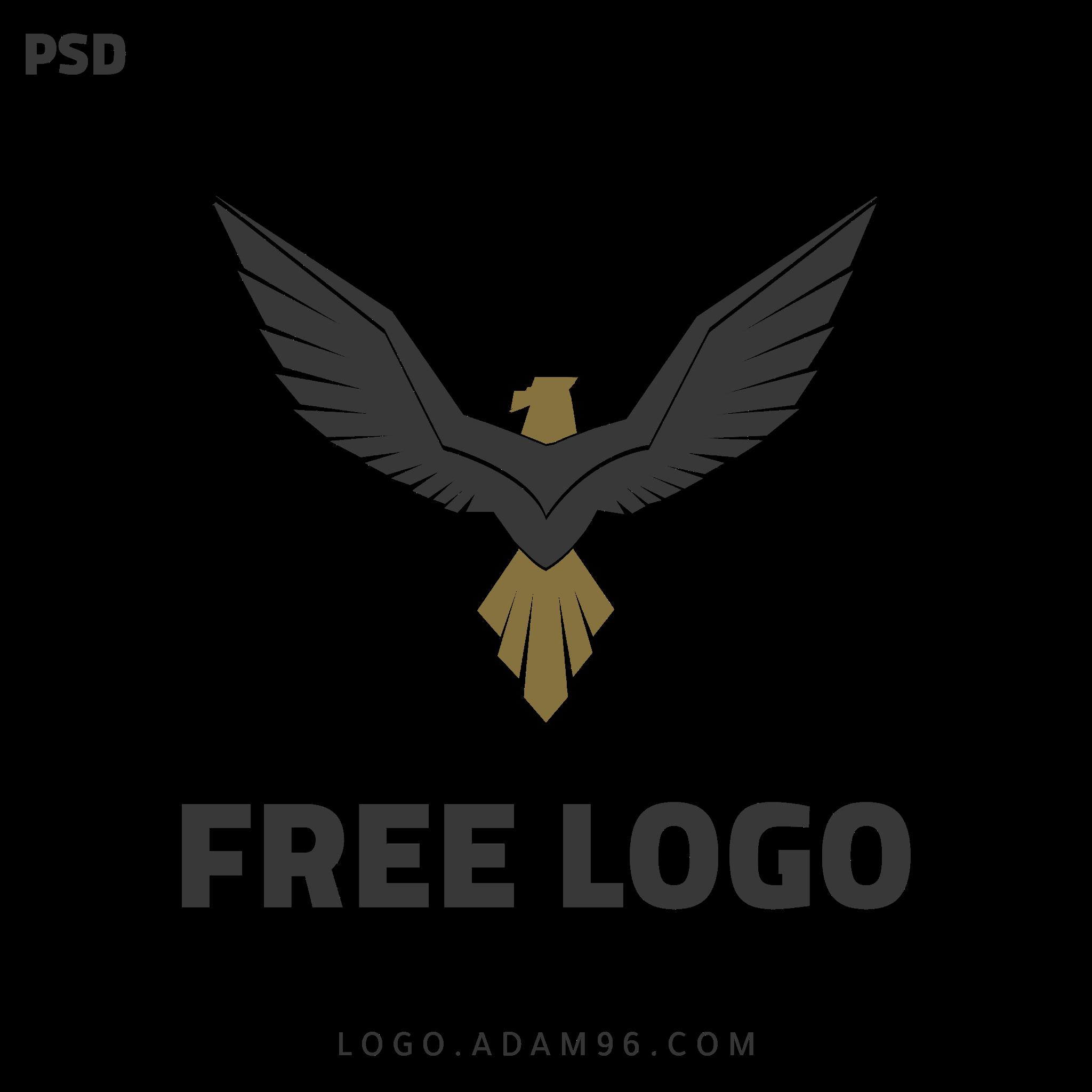 تحميل شعار احترافي مميز بدون حقوق بصيغة ملف مفتوح Free Logo PSD