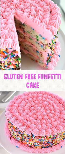 Gluten Free Funfetti Cake
