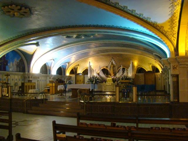 Basilica Sainte Anne de Beupre. QUEBEC