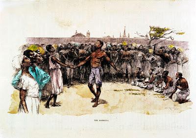 Σκλάβοι χορεύουν στην πλατεία του Κονγκό - Congo square slaves dancing