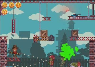 Game ringan Gun Zombie Gun menceritakan tentang Zombie yang berusaha mengambil alih kota dan hidup di lokasi konstruksi